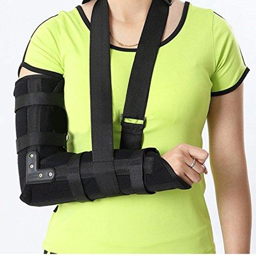 Genmine Arm Sling, Elbow Shoulder Padded Support Brace Hu...