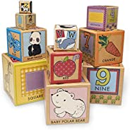 Melissa & Doug Natural Play Early Learning 10 Stacking & Nesting Cardboar