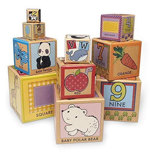 Melissa & Doug Stacking & Nesting Cardboard Blocks