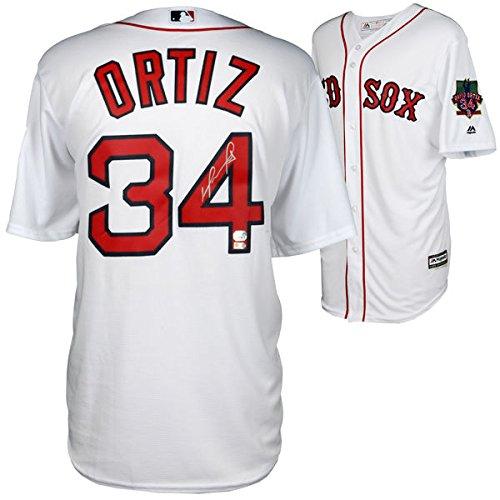 DAVID ORTIZ Autographed Boston Red Sox Retirement Jersey FANATICS