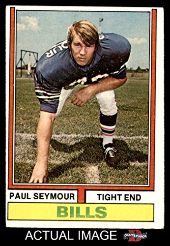 1974 Topps # 261 Paul Seymour Buffalo Bills (Football Card) Dean's Cards 4 - VG/EX - Seymour Buffalo Paul