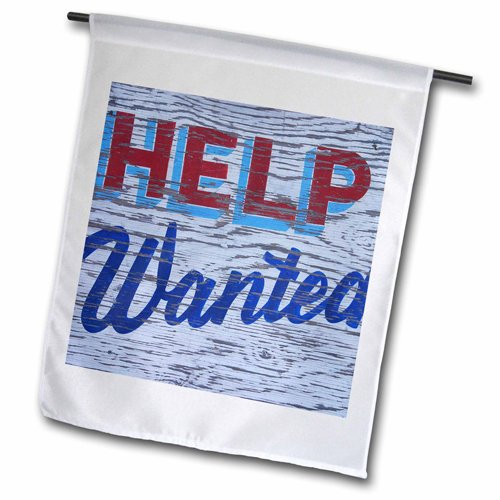 "3dRose fl_97653_2 ""Weathered Help Wanted Sign Us52 Bja002..."