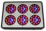 Lighthouse Hydro BlackStar Chrome Full Spectrum Flowering LED Grow Light, 270-watt