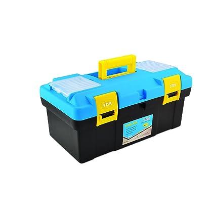 Caja de herramientas plástica de la caja de herramientas plástica de la caja de herramientas multifuncional