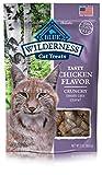 BLUE Wilderness Grain-Free Crunchy Chicken Flavor Cat Treats 2-oz (Pack of 12)