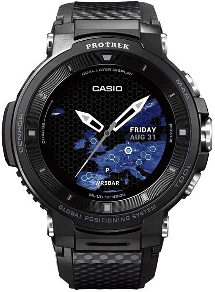 Casio Reloj Unisex Adultos de Digital con Correa en Resina WSD-F30 ...