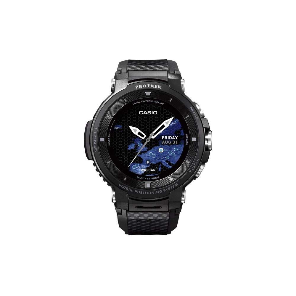 Casio Reloj Unisex Adultos de Digital con Correa en Resina WSD-F30-BKAAE