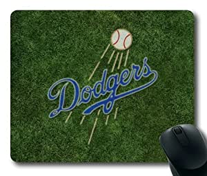 The Los Angeles Dodgers Rectangle Mouse Pad by eeMuse