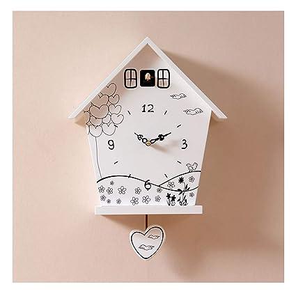 @Reloj de Pared Relojes de pared Funciona con pilas Sin hacer tictac Decorativo Sala de