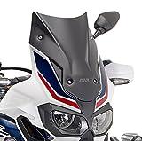GIVI D1144BO Matt Black Sport Windscreen - Honda CRF1000L Africa Twin (2016+) …