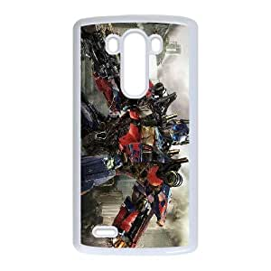 Caso Transformers 008 Lg G3 cubierta de la caja blanca del teléfono celular cubierta EVAXLKNBC08516