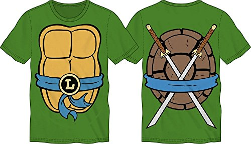 TMNT Teenage Mutant Ninja Turtles Mens Costume T-shirt (Medium, Leonardo) for $<!--$19.95-->