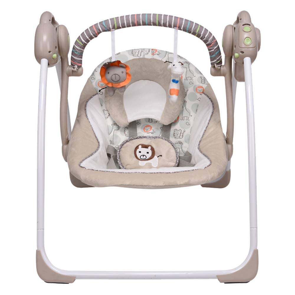 VASTFAFA Electric Baby Swing Chair,Portable Swing Suitable from New-Born Baby