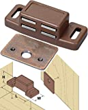 Platte River 800498, 100-pack, Hardware, Locks And Latches, Magnetic Catches, 9# Single Magnetic Catch