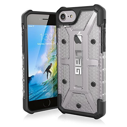 UAG iPhone 8 / iPhone 7 / iPhone 6s [4.7-inch screen] Plasma Feather-Light Rugged [ICE] Military Drop Tested iPhone Case ()