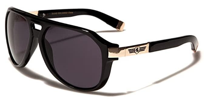 8639aaff6b Amazon.com  Khan Vintage Retro Men s Aviator s Sunglasses  Sports   Outdoors