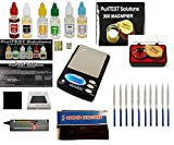 Electronc Diamond and Precious Metals Test Kit-Culti Diamond Selector, PuriTEST Purity Test Acids, DigiWeigh Jewelry Scale and Much More image