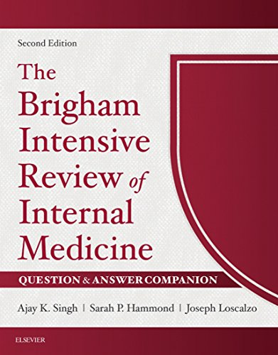 The Brigham Intensive Review of Internal Medicine Question & Answer Companion E-Book - http://medicalbooks.filipinodoctors.org