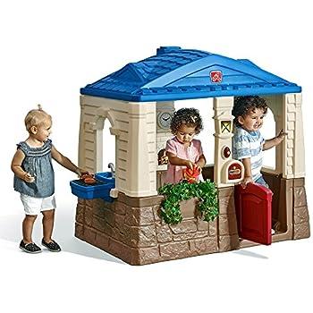 Amazon Com Little Tikes Cape Cottage Tan Toys Amp Games