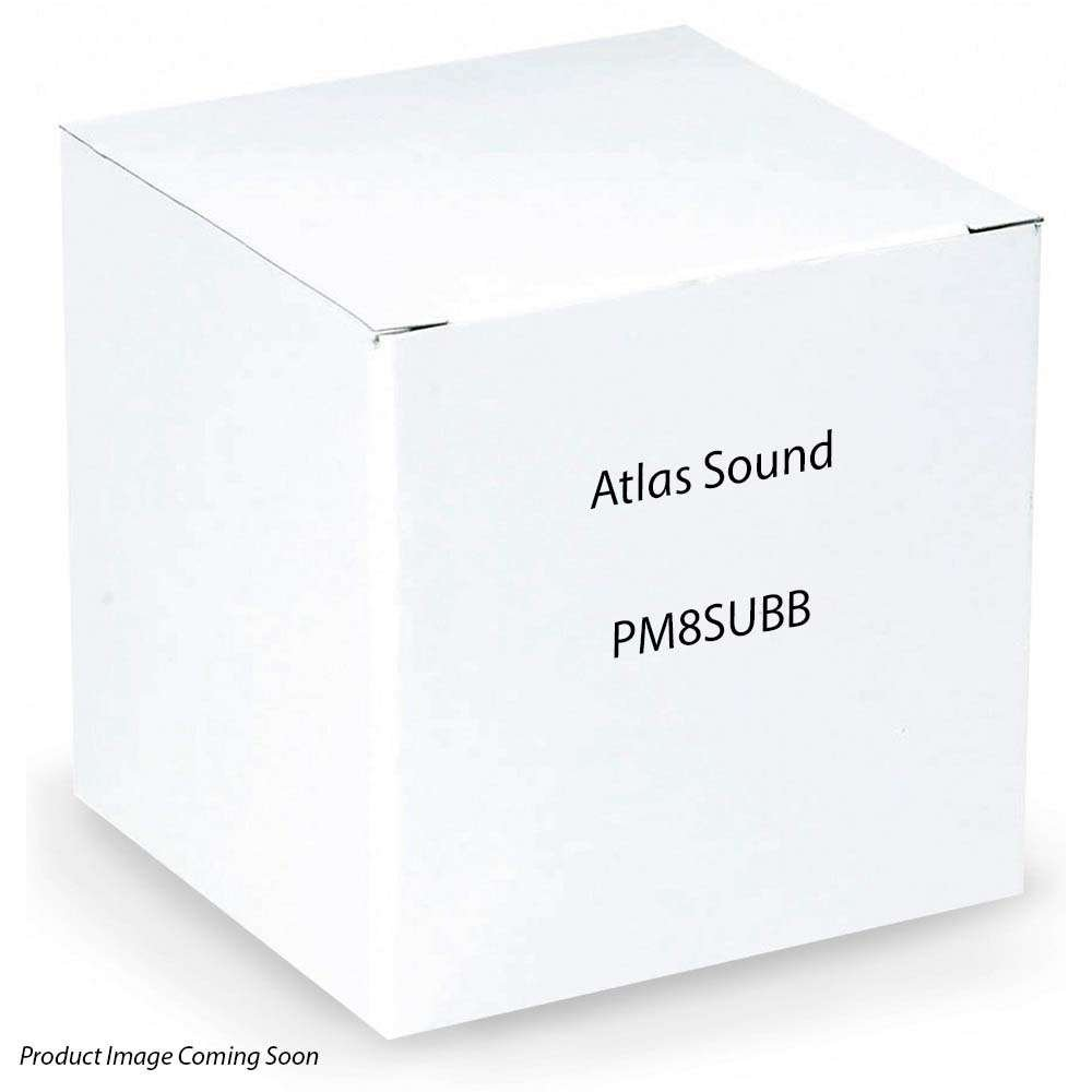 Atlas Sound PM8SUB-B 8IN PENDENT MOUNT SUBWOOFER by Atlas Sound