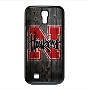 Diy iphone 5 5s case Wood Pattern NCAA Nebraska Cornhuskers Team Logo Case Skin for SamSung Galaxy S4 I9500 Case Cover