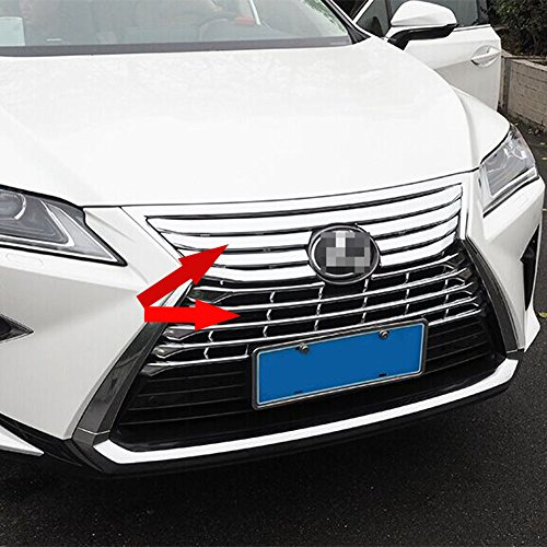 Fit For Lexus New RX RX350 RX450H 2016 2017 2018 Chrome Front Grill Grille Cover Trim (Lexus Chrome Grill)