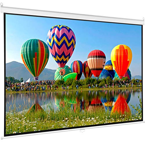 Surface Front Projection Screen - Manual Projection Screen Viewing Area: 100