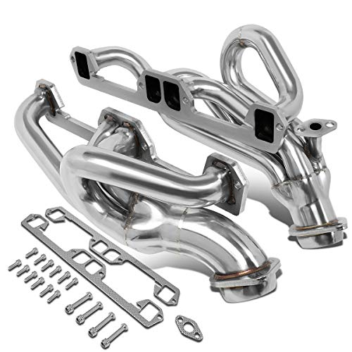Pair Stainless Steel Shorty Exhaust Manifold Header for Dodge Dakota 5.2L/Ram Truck 1500/2500/3500 5.9L 92-95 Dodge Dakota Cat Back Exhaust