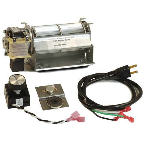 Springer GFK21 Fireplace blower kit for Heatilator, Majes...