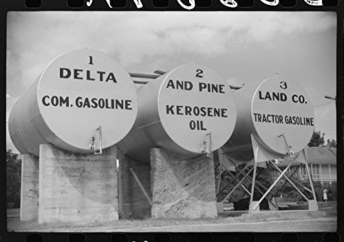 Tanks Of Gas And Oil For Delta And Pine Company  Scott  Mississippi Delta  Mississippi