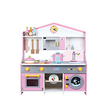 Amazon.com: iYBWZH Fun with Friends Kids Play Kitchen Play ...