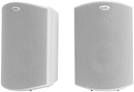Polk Audio Atrium 4 Outdoor Speakers (Pair, White)