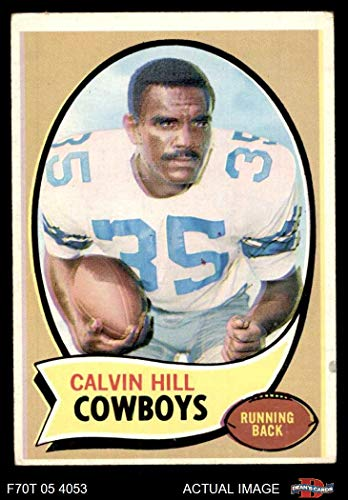 1970 Topps # 260 RED Calvin Hill Dallas Cowboys (Football Card) (Name in Red on Front) Dean's Cards 2 - GOOD Cowboys