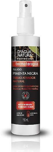 Fluido Pimenta Negra, D'agua Natural, 190 mL