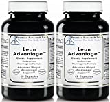 PREMIER RESEARCH LABS Lean Advantage - Weight Management, Glucose Response and Sustain The Ratio of Lean Muscle to Total Body Mass (60 Vegetarian Capsules - Pack of Two)