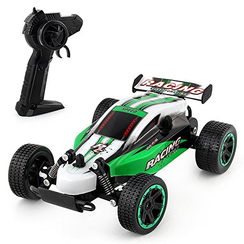 Gbell 1:20 2.4Ghz 2WD Off-Road RC Vehicle Racing Car, High Speed Remote Control Rock Crawler Monster Truck Car Buggy Kit Toy Birthday for Boys Kids 8-15 Years Old ()