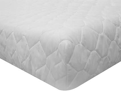 morflex – Protector de colchón Acolchado algodón Acolchado Rombo – Veste colchón una Plaza y Media