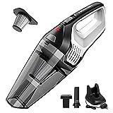 Homasy Portable Handheld Vacuum Cleaner, 6KPA Powerful Cyclonic...