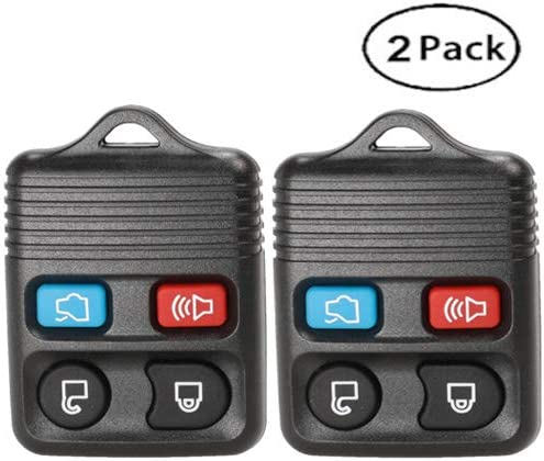 2pcs 3+1//4//Buttons Remote Car Key Fob Case Shell Cover for Ford Lincoln Mercury Explorer Escape Focus Fusion Taurus