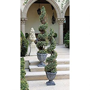 Design Toscano SE6089 Spiral Topiary Small Tree Urn 61