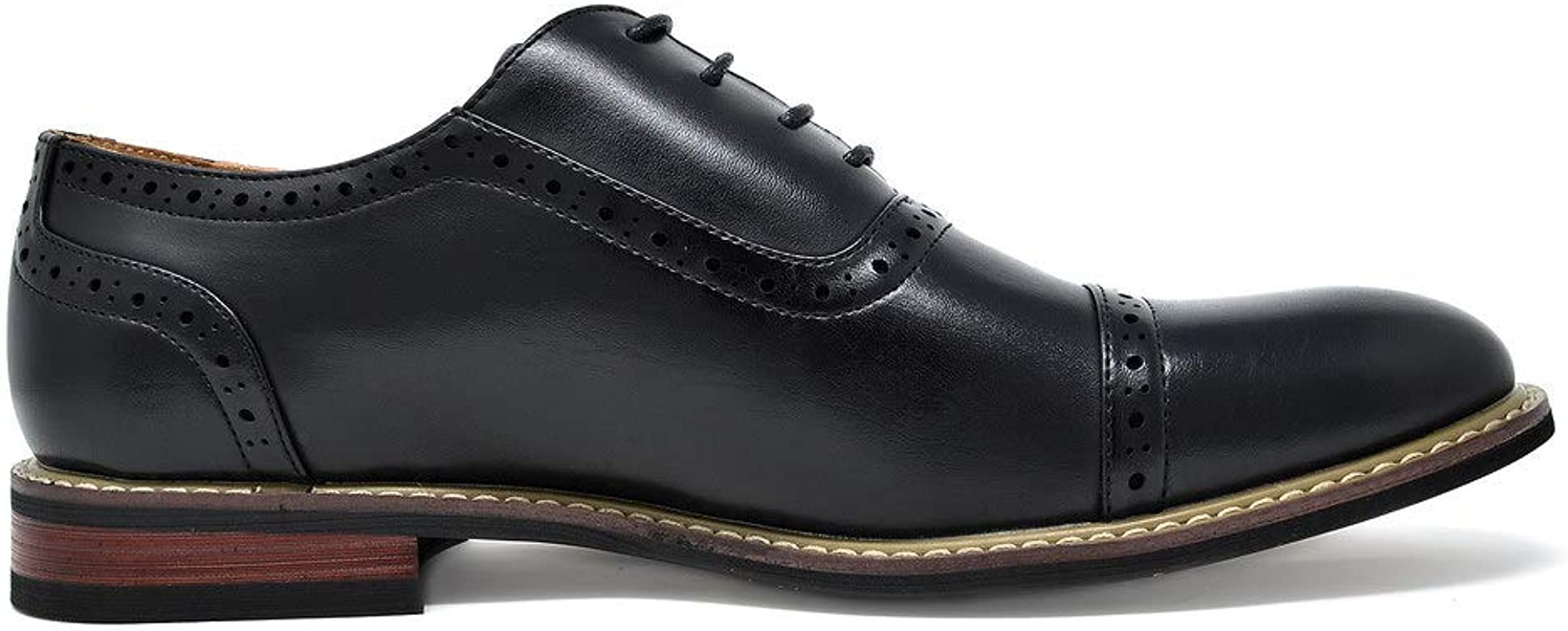 DREAM PAIRS Bruno Marc Prince Derbys Homme Chaussures