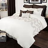 Lavish Home 10 Piece Nala Comforter Set, King