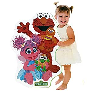 Amazon Com Sesame Street Elmo Big Like Me Foam Floor