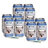 KMR Liquid Milk Replacer for Kittens & Cats, 8oz Cans, Case of 12 w/Probiotic Gels