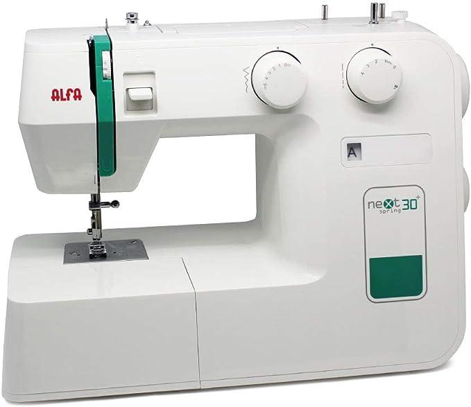 Alfa Maquina De Coser Next Verde 30 X 19 X 37 Cm Amazon Es Hogar