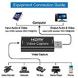 GOODAN Audio Video Capture Cards - HDMI to USB