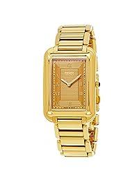 Fendi Women's F701415000 Classico Analog Display Analog Quartz Gold Watch
