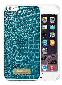 iPhone 6 Plus 5.5 inch Brahmin 10 White TPU Phone Case Unique and Luxury Design