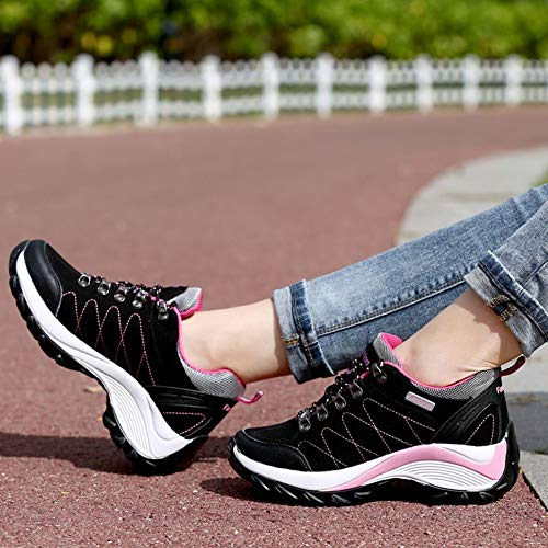 Sportschuhe Damen leicht Kletterschuhe für atmungsaktiv tragbar Outdoor rutschfest 0wd0x