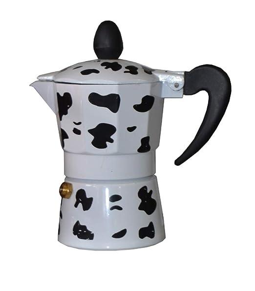 Ducomi - Cafetera expreso de Aluminio, Efecto Vaca, con Mango ...